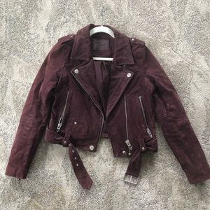 Blank NYC Suede Leather Jacket